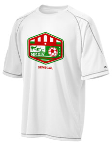 Senegal Soccer Champion Men's 4.1 oz Double Dry Odor Resistance T-Shirt