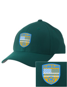Solomon Islands Soccer Embroidered Pro Model Fitted Cap