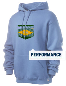 Solomon Islands Soccer Russell Men's Dri-Power Hooded Sweatshirt