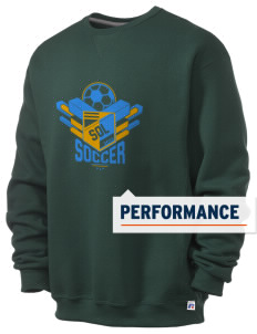 Solomon Islands Soccer  Russell Men's Dri-Power Crewneck Sweatshirt