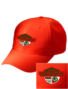 St. Kitts and Nevis Soccer Embroidered Safety Cap
