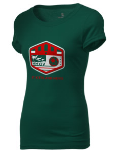 St. Kitts and Nevis Soccer Holloway Women's Groove T-Shirt