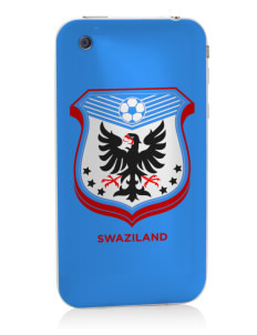 Swaziland Soccer Apple iPhone 3G/ 3GS Skin