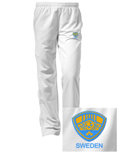 Sweden Soccer Embroidered Women's Tricot Track Pants