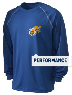 Sweden Soccer Holloway Men's Fuel Performance Long Sleeve T-Shirt