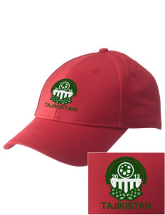Tajikistan Soccer  Embroidered New Era Adjustable Structured Cap