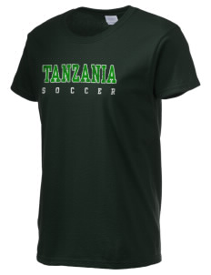 Tanzania Soccer Women's 6.1 oz Ultra Cotton T-Shirt