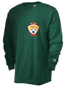 Togo Soccer  Russell Men's Long Sleeve T-Shirt
