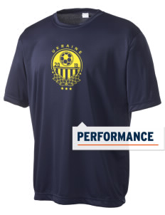Ukraine Soccer Men's Competitor Performance T-Shirt