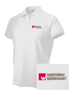 Western Seminary Est. 1927 Embroidered Women's Technical Performance Polo
