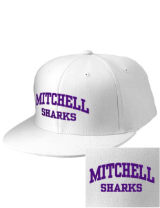 Mitchell Elementary School Sharks Embroidered Diamond Series Fitted Cap