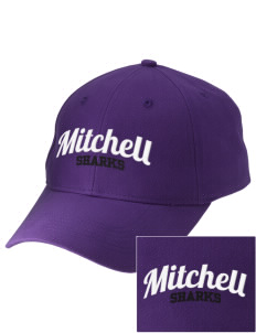 Mitchell Elementary School Sharks Embroidered Low-Profile Cap