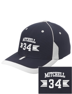 Mitchell Elementary School Sharks Embroidered M2 Universal Fitted Contrast Cap