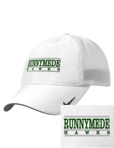 Runnymede Elementary School Hawks Embroidered Nike Golf Mesh Back Cap