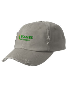 Estill Middle School Baby Gators Embroidered Distressed Cap