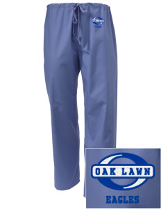 Oak Lawn Elementary School Eagles Embroidered Scrub Pants