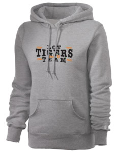 L C Tobias Elementary School Tigers Russell Women's Pro Cotton Fleece Hooded Sweatshirt