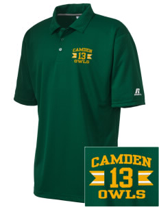 Camden Primary School Owls Embroidered Russell Coaches Core Polo Shirt
