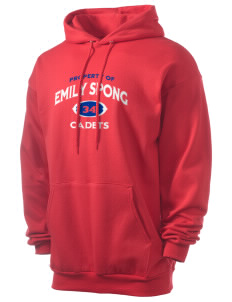 Emily Spong Elementary School Cadets Men's 7.8 oz Lightweight Hooded Sweatshirt