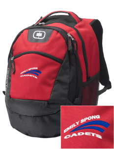 Emily Spong Elementary School Cadets Embroidered OGIO Rogue Backpack