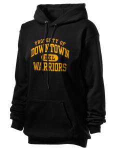 Downtown Middle School Warriors Unisex Hooded Sweatshirt