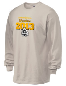 Downtown Middle School Warriors 6.1 oz Ultra Cotton Long-Sleeve T-Shirt