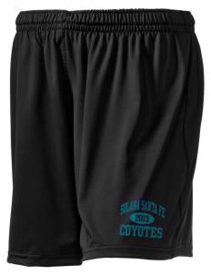 "Solana Santa Fe Elementary School Coyotes Holloway Women's Performance Shorts, 5"" Inseam"
