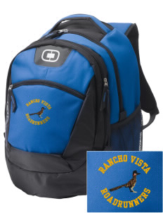 Rancho Vista Elementary School Roadrunners Embroidered OGIO Rogue Backpack
