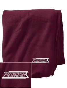 Marshall Middle School Mustangs Embroidered Holloway Stadium Fleece Blanket