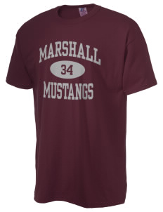 Marshall Middle School Mustangs  Russell Men's NuBlend T-Shirt