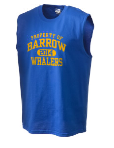 Barrow High School Whalers Men's Cotton Shooter Shirt