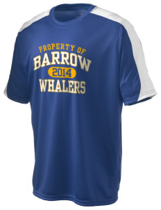 Barrow High School Whalers  Holloway Men's Power T-Shirt