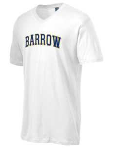 Barrow High School Whalers Men's Perfect Weight V-Neck T-Shirt