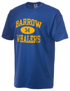 Barrow High School Whalers  Russell Men's NuBlend T-Shirt