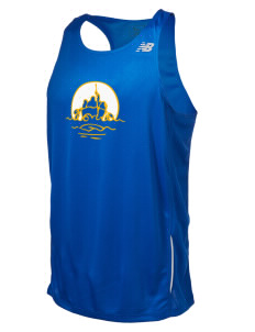 Barrow High School Whalers Men's New Balance Tempo Running Singlet