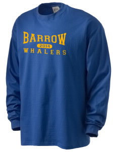 Barrow High School Whalers Men's Long Sleeve T-Shirt