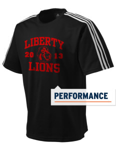 Liberty Alternative Education Center Lions adidas Men's ClimaLite T-Shirt