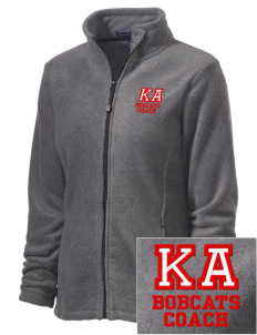 Kern Avenue Elementary School Bobcats Embroidered Women's Wintercept Fleece Full-Zip Jacket