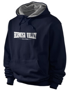 Hermosa Valley School Dolphins Champion Men's Hooded Sweatshirt