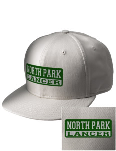 North Park Middle School Lancer  Embroidered New Era Flat Bill Snapback Cap