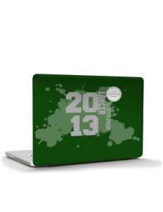 "North Park Middle School Lancer Apple Macbook Pro 17"" (2008 Model) Skin"