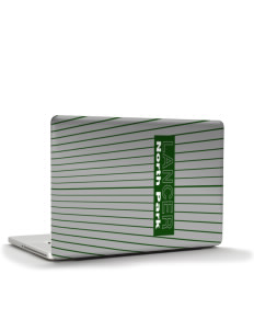"North Park Middle School Lancer Apple MacBook Air 13"" Skin"