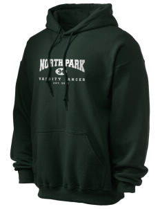 North Park Middle School Lancer Ultra Blend 50/50 Hooded Sweatshirt