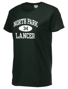 North Park Middle School Lancer Women's 6.1 oz Ultra Cotton T-Shirt
