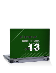 "North Park Middle School Lancer 15"" Laptop Skin"