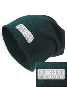 North Park Middle School Lancer Embroidered Slouch Beanie