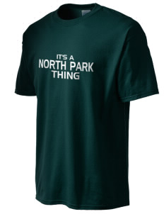 North Park Middle School Lancer Men's Essential T-Shirt