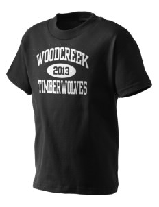 Woodcreek High School Timberwolves Kid's T-Shirt