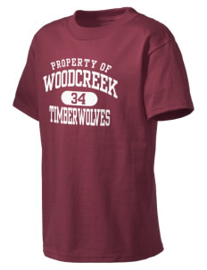 Woodcreek High School Timberwolves Kid's Lightweight T-Shirt