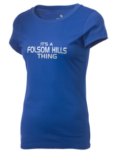 Folsom Hills Elementary School Foxes Holloway Women's Groove T-Shirt